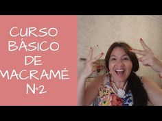 Curso Básico De MACRAMÉ N°2 Nudo Cuadrado - YouTube Macrame Necklace, Macrame Bracelets, Lucet, Bordado Tipo Chicken Scratch, Crochet Classes, Diy Crafts To Do, Micro Macramé, Macrame Projects, Macrame Knots