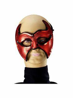 Devil Venetian Mask - http://www.halloween.quick-reviews.com/6540/devil-venetian-mask.html