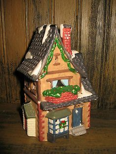 Bisque porcelain Christmas Village type Old World BAKERY house 5+ inches http://www.ebay.com/sch/m.html?_armrs=1&_ssn=stellaragrose&_sacat=0&_from=R40&_nkw=Old+World+BAKERY&_sop=1