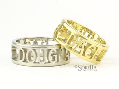 Name Rings with Pier