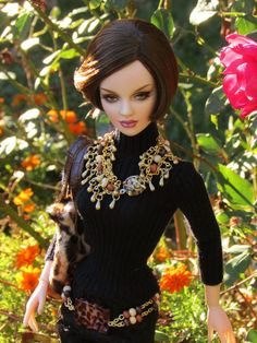 Prego: Tonner BJD Ashleigh wearing some new Jewelry called Jungle love