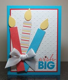 Great Birthday Card Could Also Use Idea On Sbook Page Kids Cards
