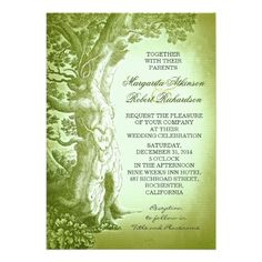 See Morevintage tree green rustic wedding invitationsonline after you search a lot for where to buy
