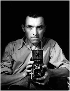 Self-portrait … 1947 … by Robert Doisneau French, photographer, champion of humanist photography, with Henri Cartier-Bresson, a pioneer of photojournalism … Robert Doisneau, Henri Cartier Bresson, Vintage Photography, Street Photography, Portrait Photography, Photography Tips, Landscape Photography, Nature Photography, Photography Office