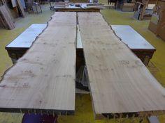 The Oak tabletop boards after planing Oak Table, Tabletop, Boards, Natural, Wood, Oak Desk, Planks, Table, Woodwind Instrument
