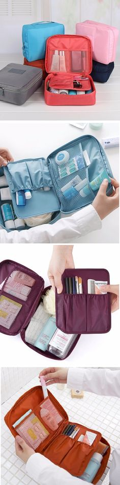 US$5.99 Waterproof Multifunction Oxford Cloth Bag Compact Makeup Storage Bag