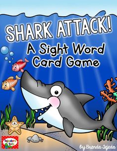 FREE ocean-themed sight word game for Fry words 1-100. Perfect for reviewing sight words in a fun way :).