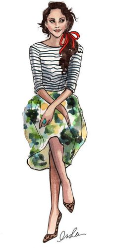 The Sketch Book – Inslee Haynes / Fashion Illustration by Inslee on we heart it / visual bookmark #36104456