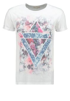 River Island - Print T-shirt - grey