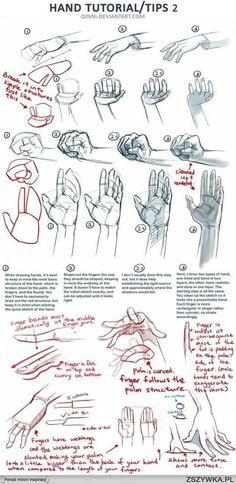 hands, how to draw, tutorial