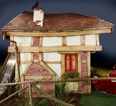A wonky Adventurer's Playhouse by The Master Wishmakers