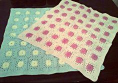 Tığ işi motif battaniye.