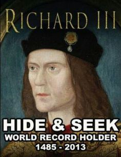 Richard III... droll British humor