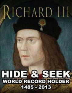 Richard III... droll British humor