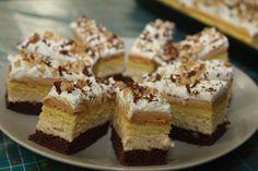 Karamelovo - orechový koláč