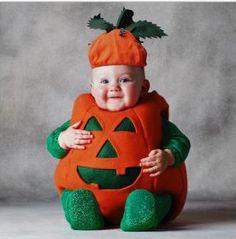 Halloween bébé citrouille, que du bonheur