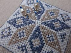 Steekjes & Kruisjes van Marijke. : Ster Cross Stitch Boards, Needle Book, Cross Stitch Designs, Pin Cushions, Crochet, Blanket, Canvas, Pattern, Coaster