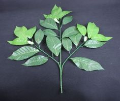 12 stems Magnolia Leaf Artificial flowers and plants Artificial tree branches for Decoration Outdoors indoors Coffee Shops Home Decor ** For more information, visit image link.