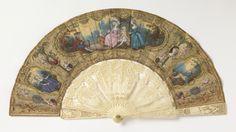 Pleated Fan (France), 1775–85