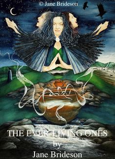 Art by Jane Brideson, The Ever-Living Ones: Gallery: Irish Goddesses. A wealth of symbolic detail in this excellent depiction of the Morrigna.