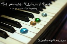 many piano lesson games to reinforce principles...also free printables