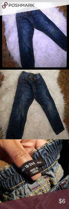 Jeans Denim jeans for baby straight leg adjustable waist has buttons to add suspenders primark Bottoms Jeans