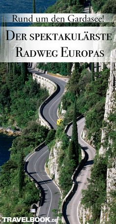 Lake Garda is probably the most spectacular bike path in Europe- Lake Garda is probably the most spectacular bike path in Europe – TRAVELBOOK - Create A Person, Lower Leg Muscles, Mountain Bike Races, Bike Path, Lake Garda, Eurotrip, Landscape Architecture, Mtb, Paths