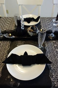 ハロウィンパーティーのテーブル - 私のプチハッピー