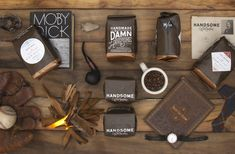 Handsome Coffee Roasters / designed by PTARMAK. via Lovely Packaging #packaging #coffee