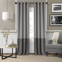 Elrene Home Fashions Braiden Blackout Single Curtain Panel