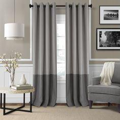 Elrene Home Fashions Braiden Blackout Single Curtain Panel
