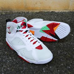 418a856df31532 Air Jordan VII  Hare  (KICKS