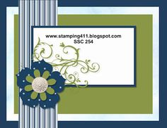 Stamping 411 Saturday Sketch 254