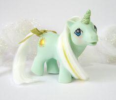 Unicorn Baby Sunbeam G1 Custom My Little Pony Baby Pony