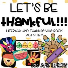 Activity 1: Acorn Craftivity Booklet- Goes with any Thanksgiving Book, templates included  Activity 2: Turkey Fact/Opinion Craftivity- students make turkey and differentiate between fact and opinion