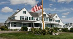 The Kennedy Family Compound in Hyannis Port, Massachusetts - The main house of the oceanfront compound has been given to an institute named after Ted Kennedy.