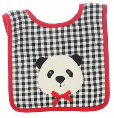 Alimrose Designs Panda Bear Bib with Panda Bear ensures baby stays clean whilst also looking chic! Kids Boutique, Baby Store, Beautiful Children, Baby Bibs, Baby Accessories, Party Fashion, Panda Bear, Girl Gifts, Chic Baby