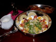 Salade hawaïenne au poulet - Recette de cuisine Marmiton : une recette                                                                                                                                                     Plus