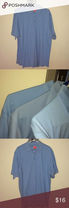 XL blue polo shirt lot x 3 nwt Mens XL Hartwell light blue polo shirts  New with tags x 3  3 shirts for less then the reg price of 1  My husband used to wear light blue shirts to work and we bought several ahead last year. No longer needs them so I'm selling as a lot. Cotton poly blends Bundle for deals and 1 shipping cost  hartwell Shirts Polos