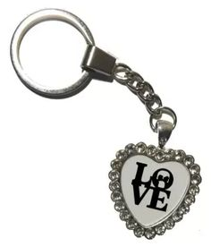 e747ce60f Valentine s day gift 3D printed key chain  Buy Online at Low Price in India  -