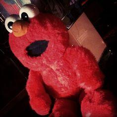 Boneco #Elmo da Vila Sésamo (Sesame Street), 1995, importado dos EUA.