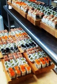 Sushi Boat at SUI-REN, The Shore Club Turks & Caicos Sushi Boat, The Turk, Turks And Caicos, Sashimi, Vacations, Restaurant, Foods, Club, Dishes