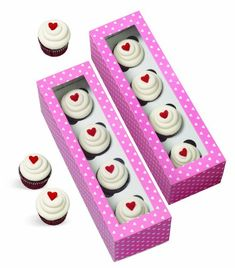 Wilton 4152057 4Pack Cavity Mini Cupcake Boxes Long Discontinued By Manufacturer *** This is an Amazon Affiliate link. Be sure to check out this awesome product.
