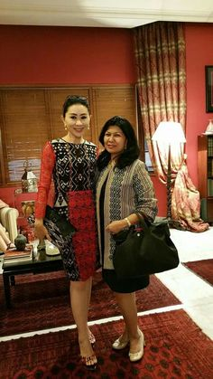 Batik Fashion, Ethnic Fashion, African Fashion, Indian Fashion, Womens Fashion, Batik Kebaya, Batik Dress, Dress Batik Kombinasi, Batik Blazer