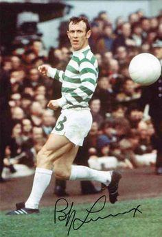 Bobby Lennox of Celtic in 1968.