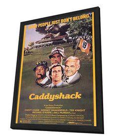 caddyshack framed movie poster zulilyfinds - Movie Posters Framed