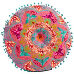 Blossom Cushion - Feeling Adventurous on Joss & Main