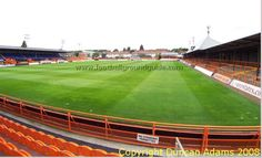 I know I covered a game there, but all I can remember is the pie hut alongside the pitch. Soccer Stadium, Football Stadiums, Barnet, Baseball Field, Pitch, Colorado, Around The Worlds, London, Game