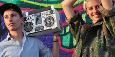 A cardboard speaker for your smartphone. The original cardboard ghettoblaster by Axel Pfaender. Made in Berlin.