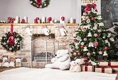 christmas photography back drops - Kate Holiday Christmas Tree Backdrop Photography White Brick Fireplace for Newborn Christmas Photo Studio Background -- You can get even more details by clicking on the photo. (This is an affiliate link). Christmas Photography Backdrops, Christmas Backdrops, Picture Backdrops, Vinyl Backdrops, Fond Studio Photo, Brick Fireplace Wall, Brick Hearth, Fireplace Drawing, White Fireplace